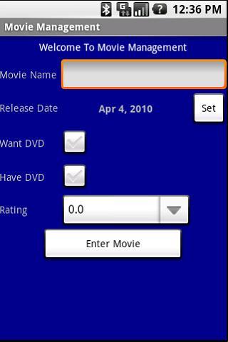 Movie Management