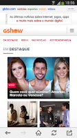 Screenshot of globo.com