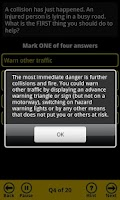 Screenshot of AA Theory Test for Car Drivers