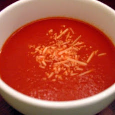 Super Fast & Easy Spicy Tomato Soup