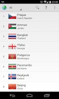 Screenshot of World Capitals