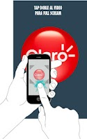 Screenshot of Claro Virtual