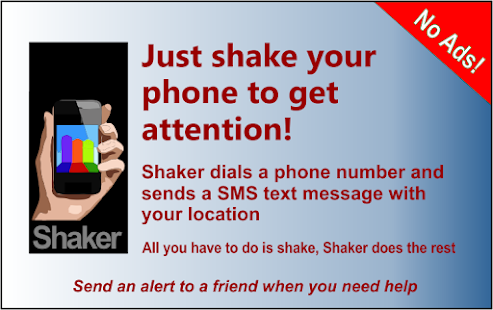 Shaker Pro secret alert dialer - screenshot