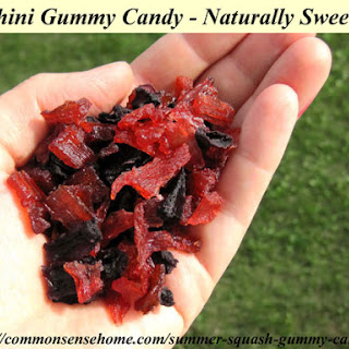 Zucchini Gummy Candy - Naturally Sweetened