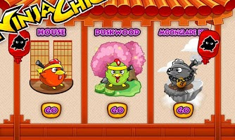 Screenshot of Ninja Chicken Egg Collector
