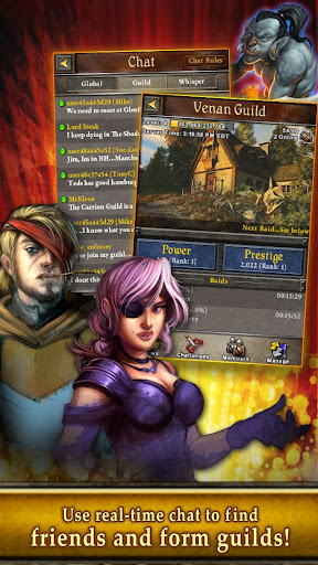 book-of-heroes for android screenshot