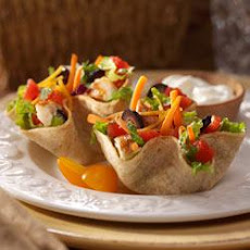Southwest Salad Taco Cups