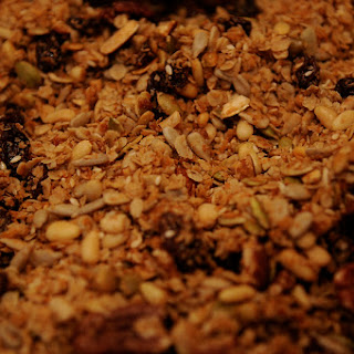 Brown Rice and Granola Power Breakfast
