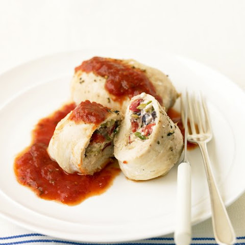Stuffed Chicken Cutlets