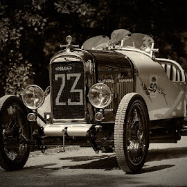 Amilcar CC by Bojan Porenta - Transportation Automobiles ( car, vehicle, oldtimer, 1923, classic, amilcar, cc )