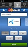 Screenshot of MasterCard Mobile