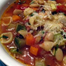 Quick Fall Minestrone Soup