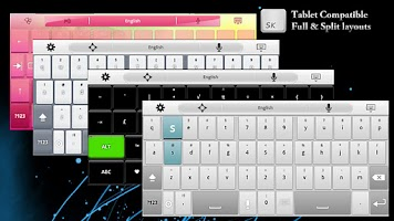 Screenshot of Super Keyboard Pro