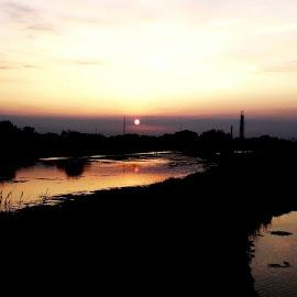 dari sore menjelang malam by H3r Heri - Landscapes Prairies, Meadows & Fields