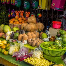 Catarina Fruit Store by Octavio Lezcano Hernández - Food & Drink Fruits & Vegetables ( zeros86, catarina, d3200, nicaragua, nikon d3200, nikon )