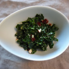 Massaged Kale Salad with Curry Dressing