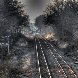 by Steve Smith - Transportation Railway Tracks