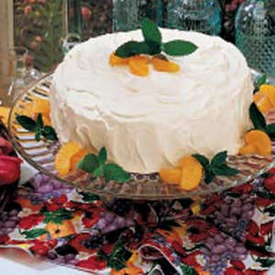 Orange Pineapple Torte