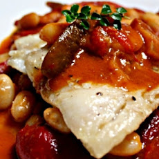 Cod Fillet with Roasted Vegetable Ragoût