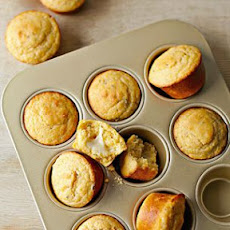 Cheese-Centered Mini Corn Breads