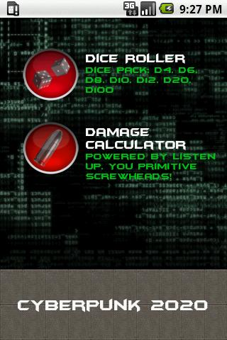 Cyberpunk Dice Pack