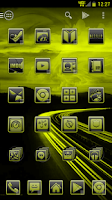 Screenshot of Serenity Launcher Theme Yellow