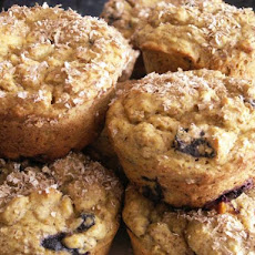Blueberry Lemon Muffins  (With Yellow Squash)