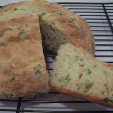 Green Onion Quick Bread