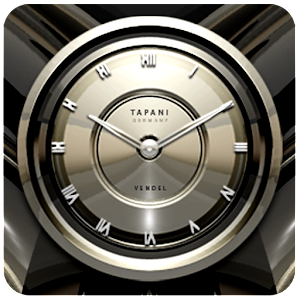 PLATINUM Designer Clock Widget
