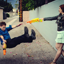 Ultimate Nerf War by Justine Joy - Sports & Fitness Other Sports ( games, nerf guns, nerf, burbank, california, street, neighborhood, people,  )