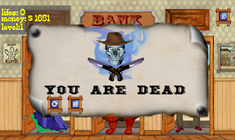 Screenshot of Bank Keeper the Gunslinger