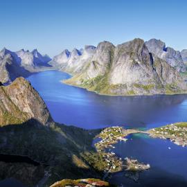 Lofoten, Norway by Petr Podroužek - Landscapes Mountains & Hills ( mountain, sea, lofoten, norway )
