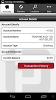 Screenshot of Park Bank Mobile Banking