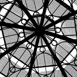 Glass Dome by Tina Hailey - Abstract Patterns ( abstract, patterns, glass dome, tinas capture moments )