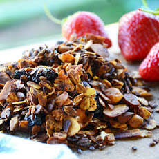 Super nutty homemade Granola