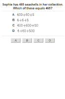 Screenshot of A+ ITestYou: Math Worksheets