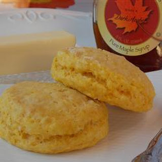 Pumpkin and Maple Biscuits