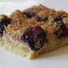 Blueberry- Lemon Crumb Bars