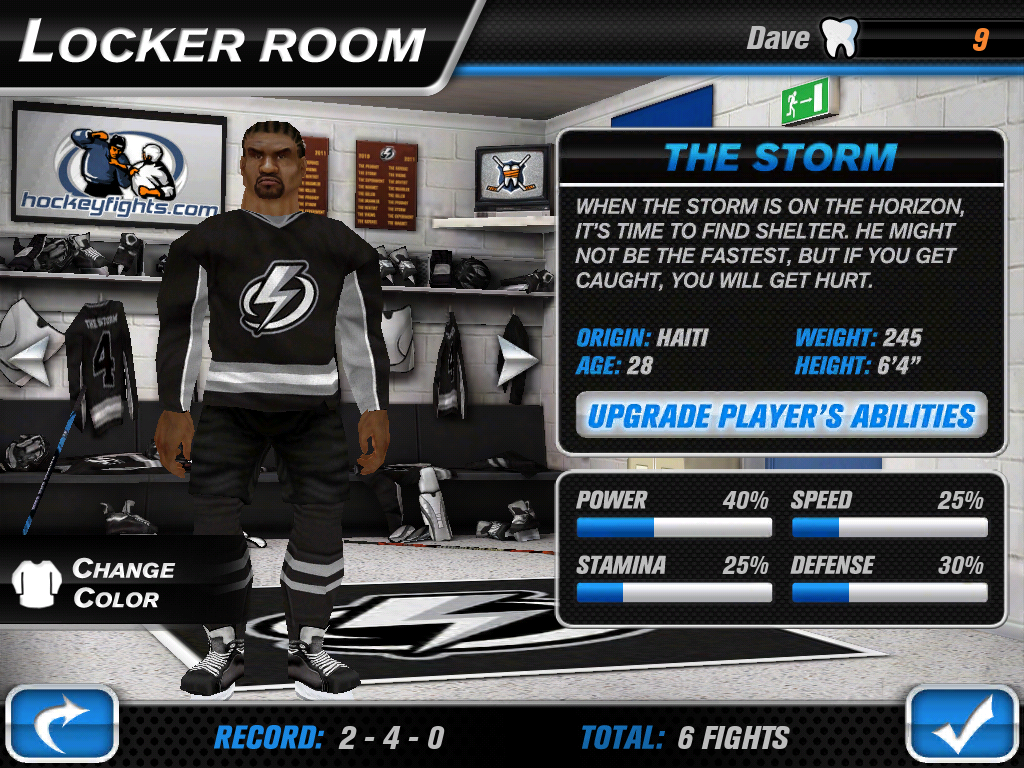 Hockey Fight Pro Screenshot 9
