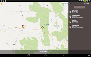 Screenshot of Yampa Valley Bank Mobile App