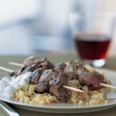 Marinated Lamb Kabobs Recipe | Yummly