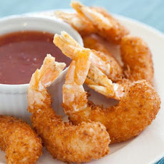 Coconut Crusted Shrimp with Sweet Red Chili Sauce