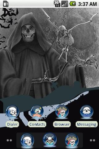 Skeleton Bird [SQTheme] ADW