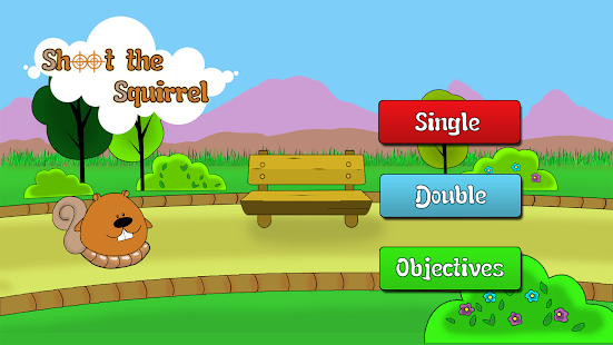Shoot the Squirrel - Paintball - screenshot