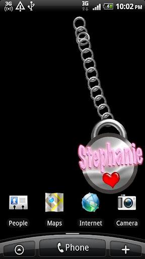 Stephanie Name Tag
