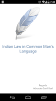 Screenshot of Indian Law