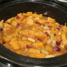 Sweet Butternut Squash With Apples