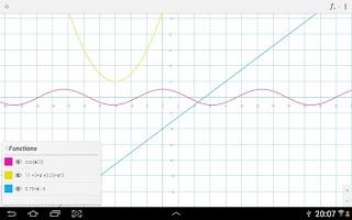 Screenshot of xGraphing