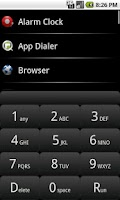 Screenshot of App Dialer