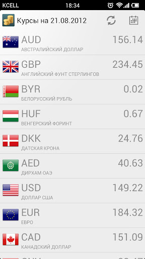 NBRK Currency Rates